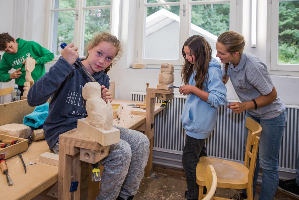 Holz Kreativ Camp Schnitzschule Geisler Moroder